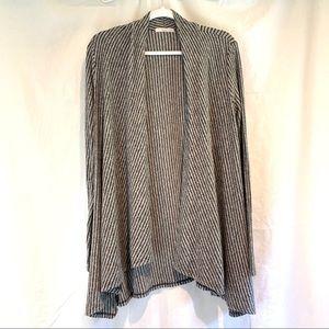 Le Lis Sweaters - Le Lis striped open cardigan Size medium